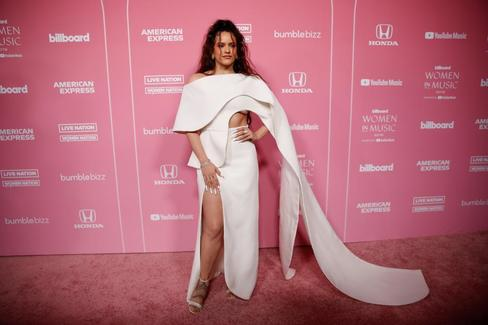 Rosalía, en los últimos premios Billboard.