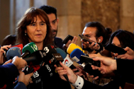 Laura Borrás, líder de JxCat en el Congreso y portavoz del Grupo Plural.