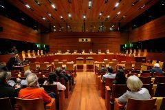 Sala del Tribunal de Justicia de la Unión Europea (TJUE).