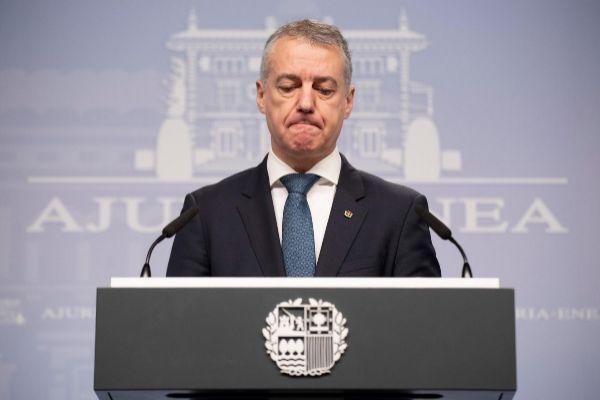 Iñigo Urkullu, lehendakari del Gobierno Vasco.