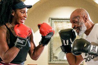 La pretemporada más excéntrica de Serena y Gauff: boxeo con Tyson, baile y karaoke