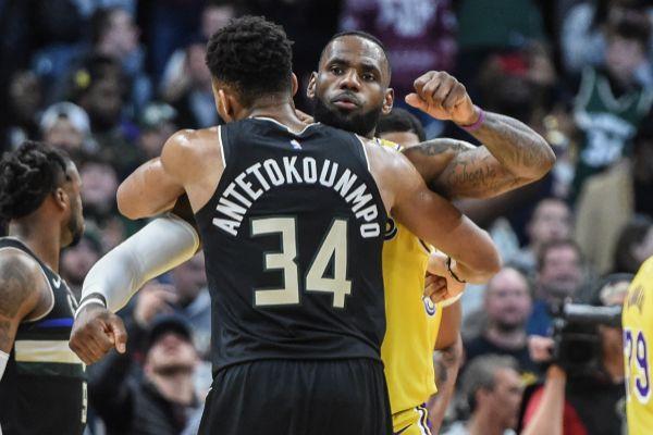"""El mensaje de Giannis tras vencer a LeBron: """"Yo llevo la corona ahora"""""""