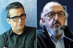Andreu Buenafuente, líder de El Terrat, y Jaume Roures, socio de referencia en Mediapro.