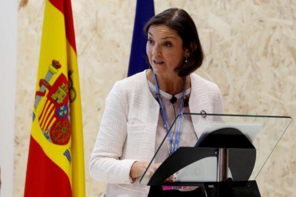 La ministra de Industria, Comercio y Turismo en funciones, Reyes Maroto.