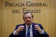El fiscal de sala y coordinador de la unidad de Seguridad Vial, Bartolomé Vargas.
