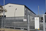 Imagen de las dependencias de la Guardia Civil en la central nuclear de Cofrentes.