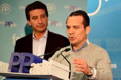 Toni Fuster y Biel Company (arriba) han optado por dejar el PP de Calvià en manos de Ruiz.