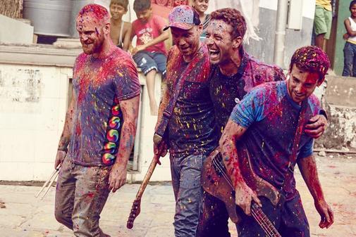 Coldplay, en 2015.