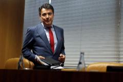El ex presidente madrileño Ignacio González, en una comisión de investigación en la Asamblea de Madrid, en 2015.