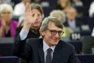 El presidente del Parlamento Europeo y diputado socialdemócrata italiano, David Maria Sassoli.