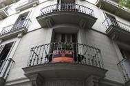 Pisos de alquiler en el centro de Barcelona.
