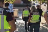 Efectivos de la Policía Nacional se han hecho cargo de la investigación.