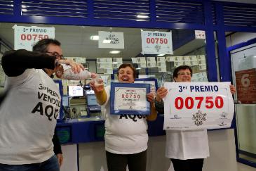 Una administración en Vilalba (Lugo) que también repartió parte del 00750.