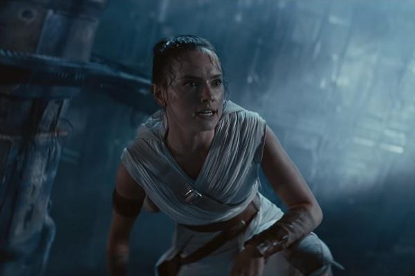 Daisy Ridley en Star Wars: El ascenso de Skywalker.