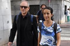 Patricia Ramírez, la madre de Gabriel, a su llegada esta mañana a la Audiencia de Almería para declarar este martes en la segunda sesión de el juicio con jurado popular por el asesinato del niño.