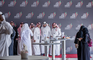 Encuentro de periodistas nacionales e internacionales, en Riad.