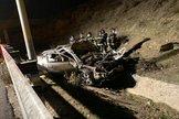 Mueren tres jóvenes y otro en estado grave en un accidente de tráfico en la M-50