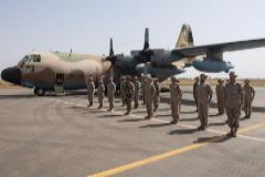 El presidente del Gobierno, Pedro Sánchez, durante su última visita a las tropas españolas en Mali.