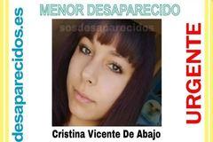 Denuncian la desaparición de Cristina Vicente De Abajo