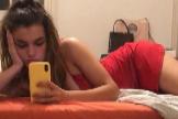 Amaia Romero felicita la Navidad con su posado más sexy