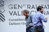 El conseller de Educación, Vicent Marzà (Compromís) junto con el secretario autonómico de Educación , Miguel Soler (PSPV-PSOE).