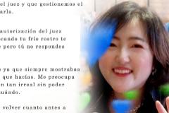 Carta escrita por el padre de la joven coreana fallecida.