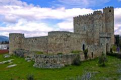 Imagen del castillo de la Coracera, en San Martín de Valdeiglesias.