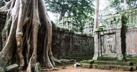 Imagen de los templos de Angkor.