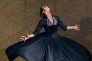 La primera bailarina del Ballet Nacional, Inmaculada Salomón.
