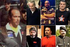 En la fotografía principal, Jordi Ros, el 'cabecilla'. Arriba, Alexis Codina, Ferran Jolis y Eduard Garzón. Abajo, Xavier Duch, Xavier Buigas y Germinal Tomàs.