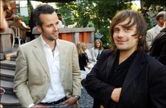 Ari Behn junto al fotógrafo Per Heimly en 2003