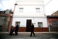 Fachada de la casa de Manuel donde Jorge P. confesó haber descuartizado a Marta Calvo.