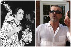 Melanie Panayiotou, la hermana de George Michael, en una fiesta en 1986.