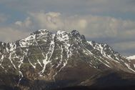 El pico Curavacas.