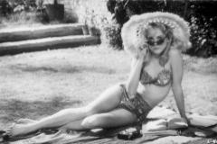 Sue Lyon interpreta a la Lolita de Kubrick en 1962.