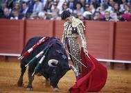 Pablo Aguado, en su apoteósico 10 de mayo sevillano