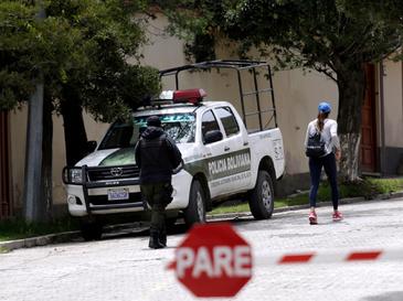 Urbanización La Rinconada, en La Paz, donde tuvo lugar el incidente diplomático.