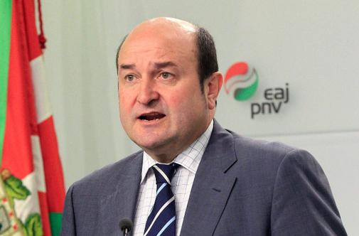 Andoni Ortuzar, presidente del PNV.