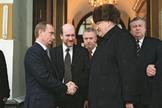 Cuando  Putin subió al trono