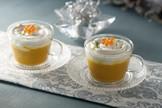 Recetas saludables con Thermomix: capuccino de batata y zanahoria a la naranja