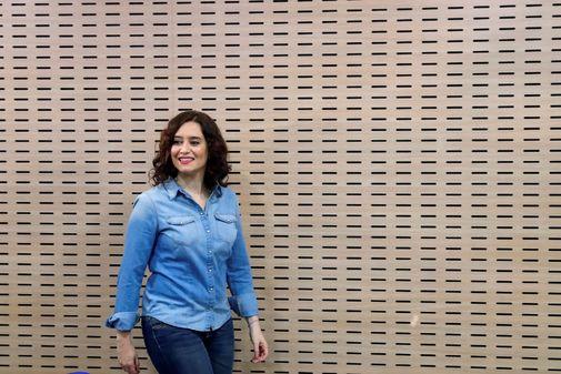 GRAF4111. MADRID.- La presidenta de la Comunidad de Madrid, Isabel...