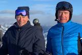 La foto viral de Arnold Schwarzenegger y Clint Eastwood