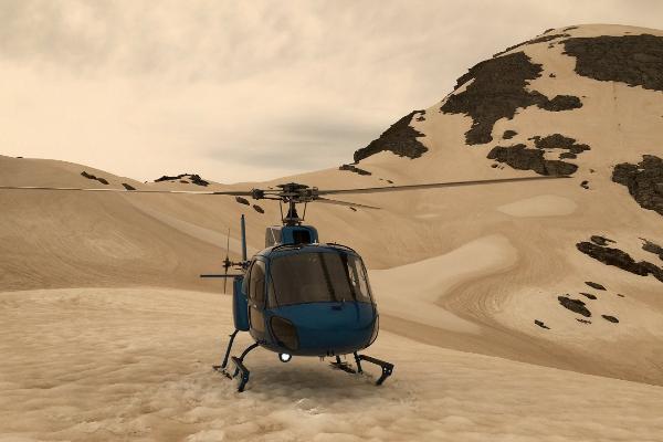 El glaciar Franz Josef, en Nueva Zelanda, ha quedado cubierto de las cenizas que han generado los incendios de Australia.