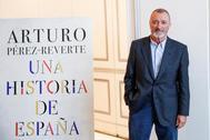El escritor y académico Arturo Pérez-Reverte.