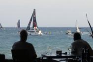 Salida Ocean Race desde Alicante, en imagen de archivo.