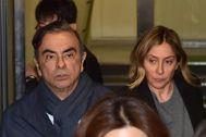 Carlos Ghosn salió solo de su casa para fugarse, según las cámaras de vigilancia