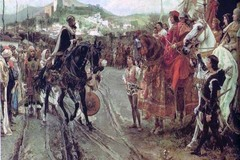 'La Rendición de Granada', cuadro de Francisco Pradilla de 1882.
