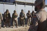 Militares españoles desplegados en Irak.