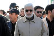 El dirigente de la 'Movilización Popular' Abu Mahdi al Muhandis, en una imagen de archivo.