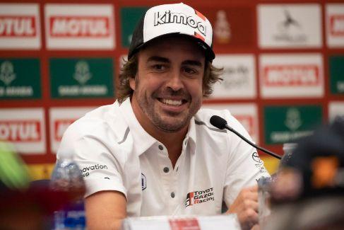 """Alonso, en la cuenta atrás: """"Estoy aquí para disfrutar y para terminarlo"""""""